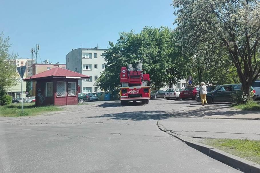 straż pożarna, skłodowskiej-curie, ED