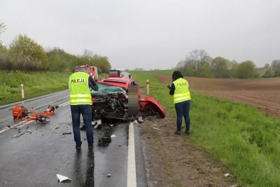 wypadek, KPP Nakło (1)