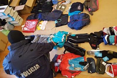 policja, podrobione ubrania - mat prasowe kpp inowrocław