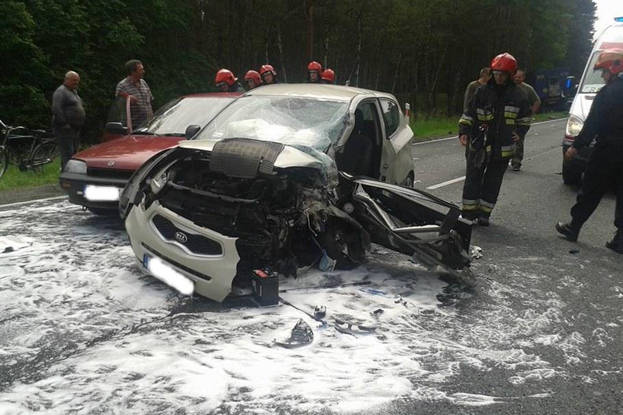 wypadek, dk 10 - andruszczenko główne