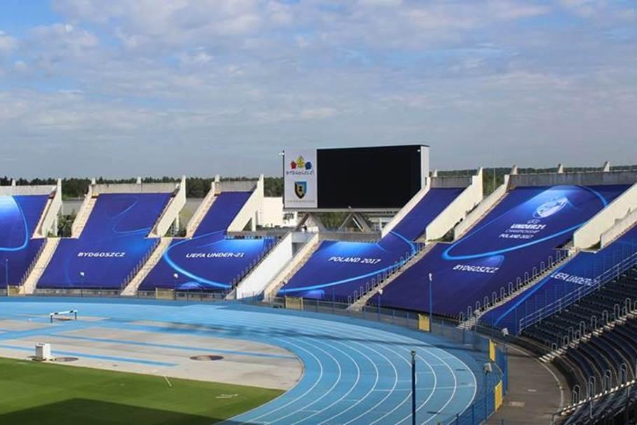 zawisza bydgoszcz, stadion, euro u21 - mat. klubu