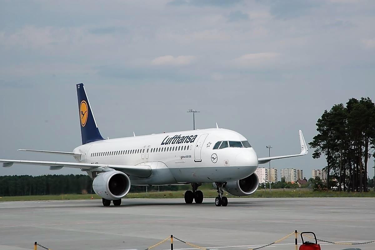 Lufthansa lotnisko Bydgoszcz