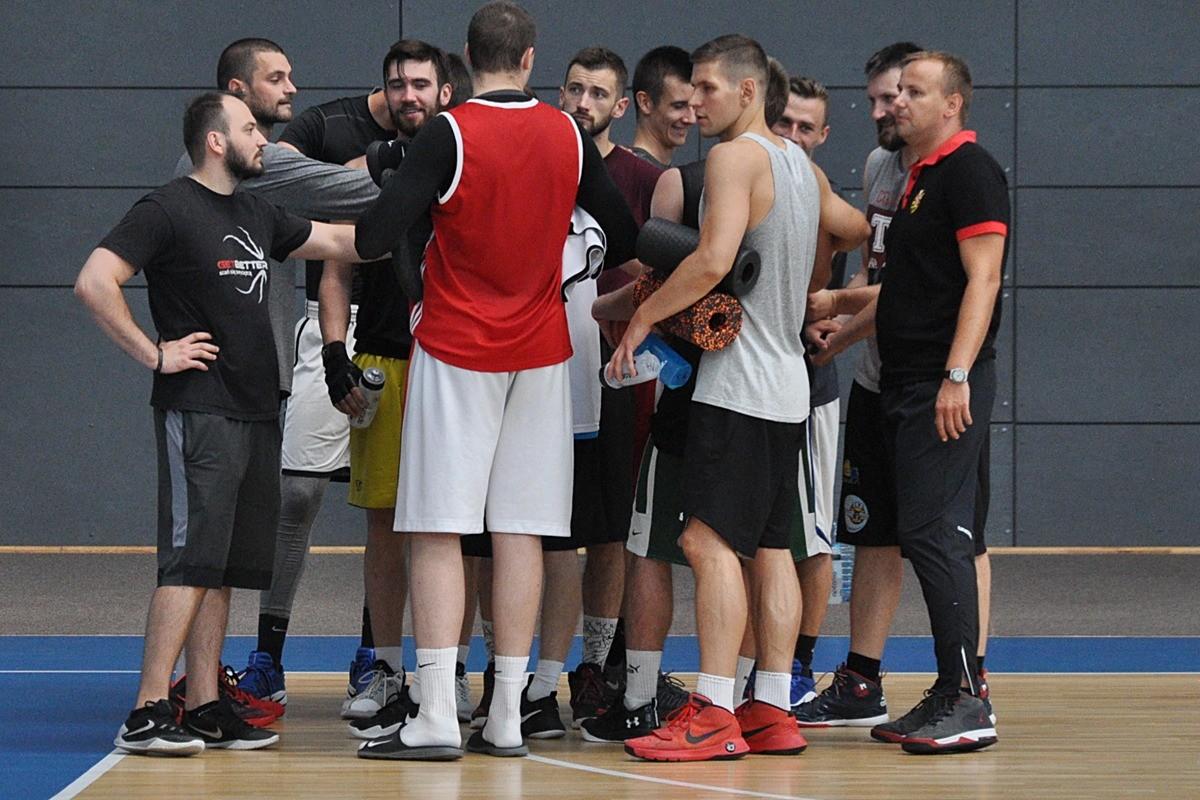 astoria bydgoszcz, koszykówka, trening - st