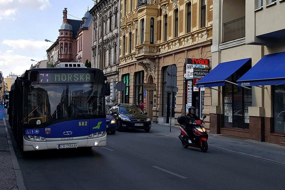 linia 71, śniadeckich - st