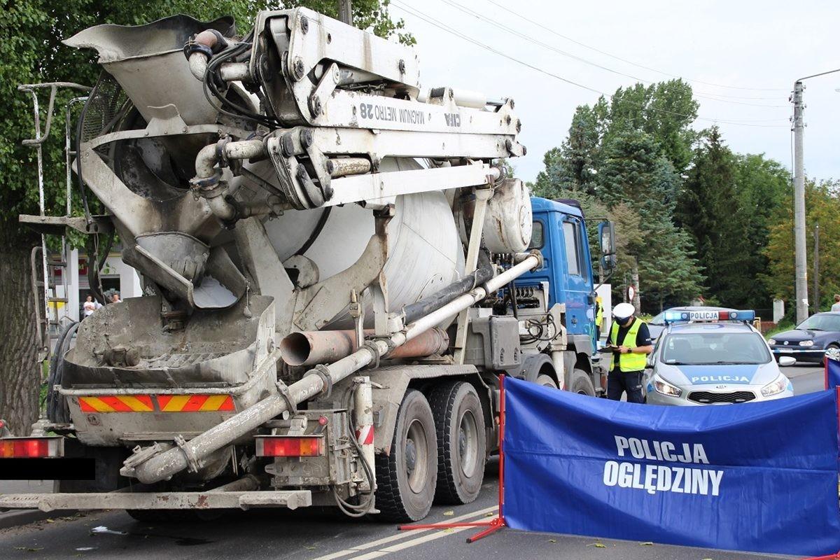 nakło, wypadek - policja
