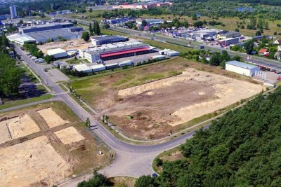 outlet center - foto dron pro główne