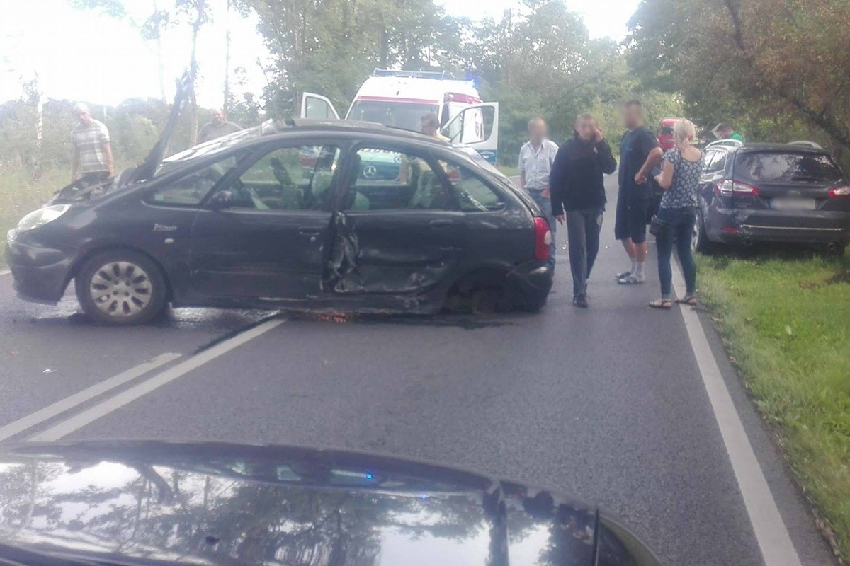 wypadek, dk25