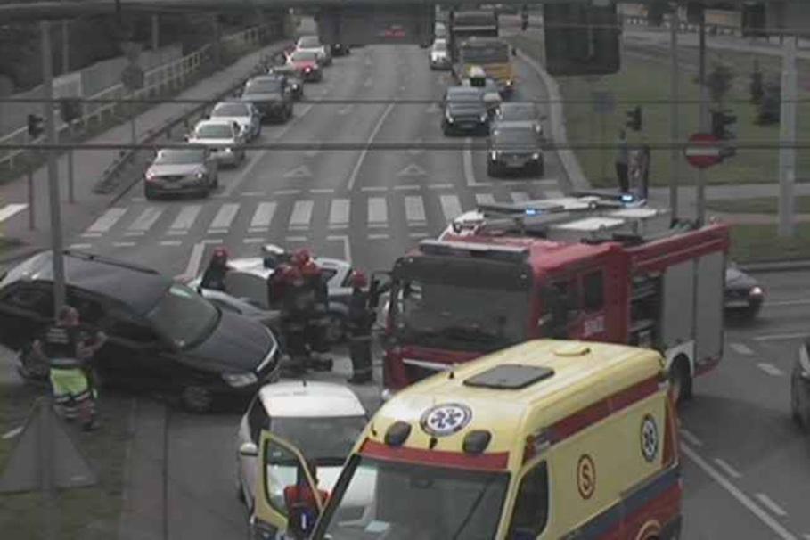 wypadek, rondo fordonskie - its
