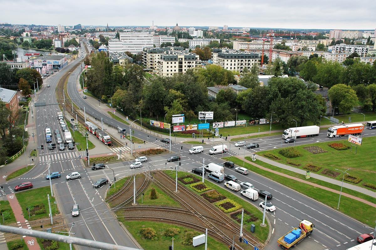 Arkada Bussines Park - widok z 10 piętra na Bydgoszcz_SG (33)
