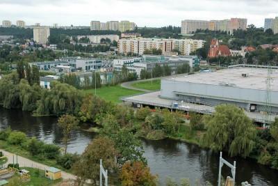 Arkada Bussines Park - widok z 10 piętra na Bydgoszcz_SG (45)