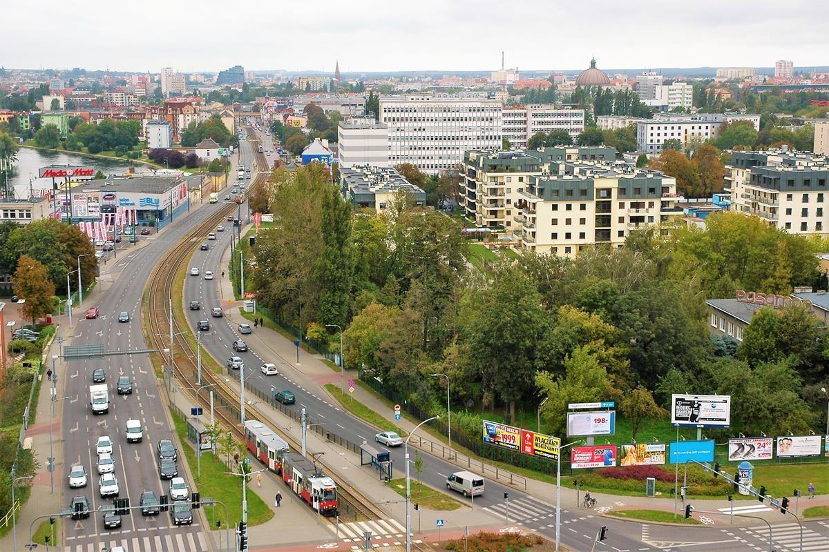 Arkada Bussines Park - widok z 10 piętra na Bydgoszcz_SG (53)