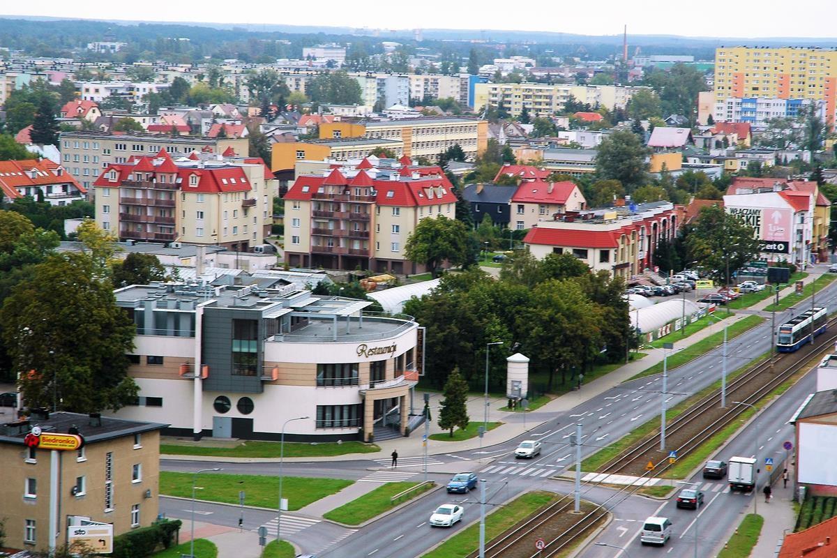 Arkada Bussines Park - widok z 10 piętra na Bydgoszcz_SG (57)