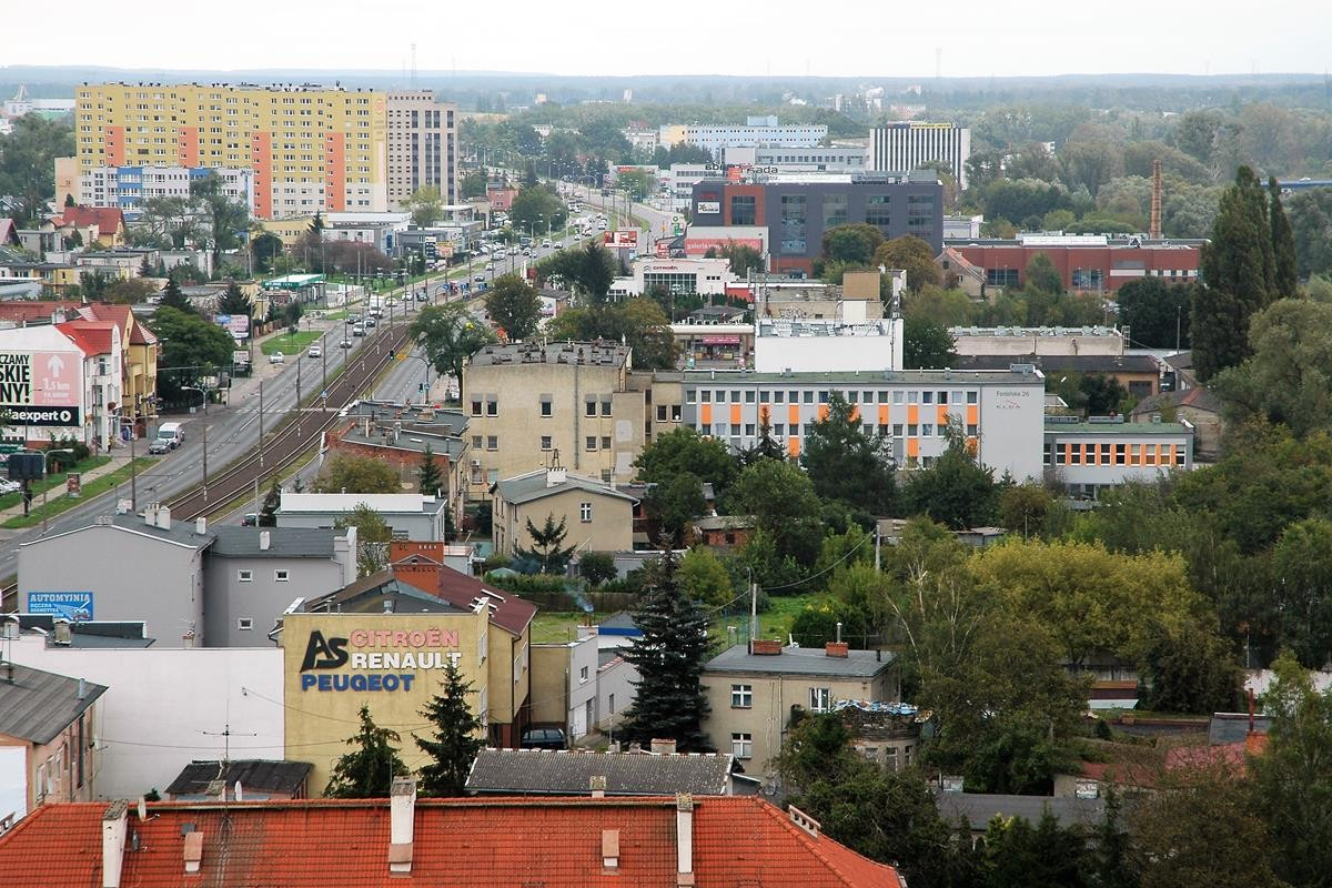Arkada Bussines Park - widok z 10 piętra na Bydgoszcz_SG (67)