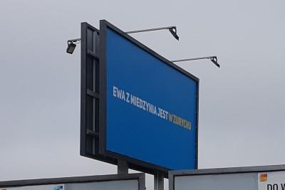 Baner reklama lotniska