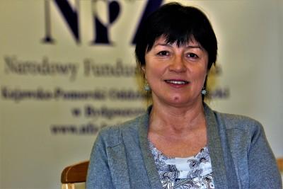 Barbara Nawrocka - rzecznik K-P OW NFZ_ SG