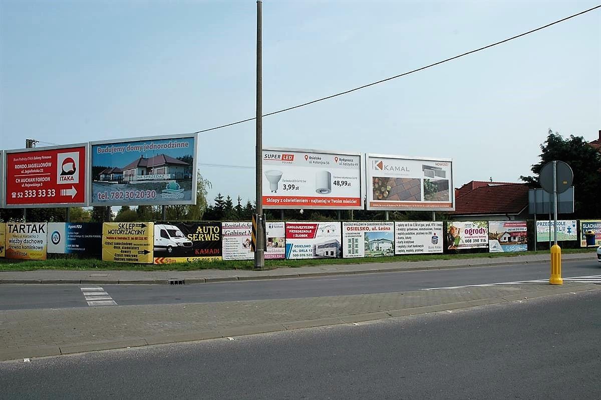 Osielsko - reklamy