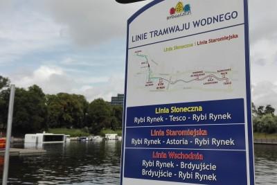 tramwaj wodny Bydgoszcz