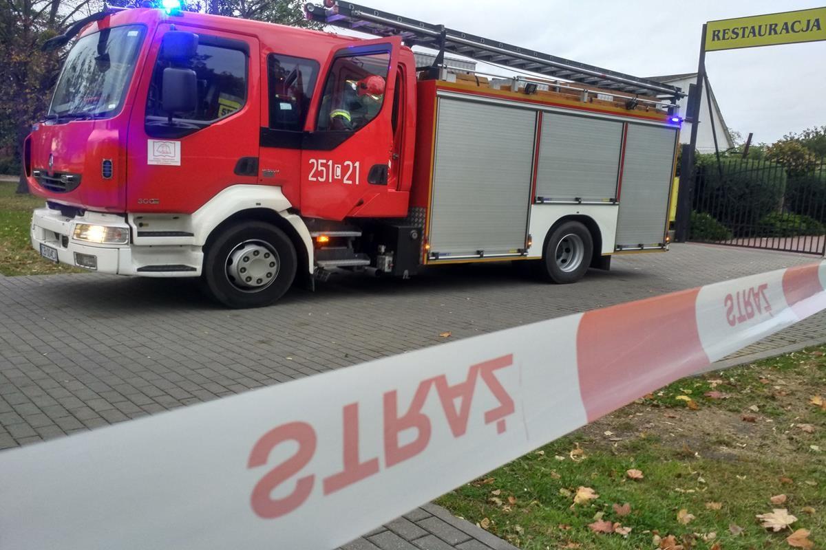 Straż Pożarna pożar SG