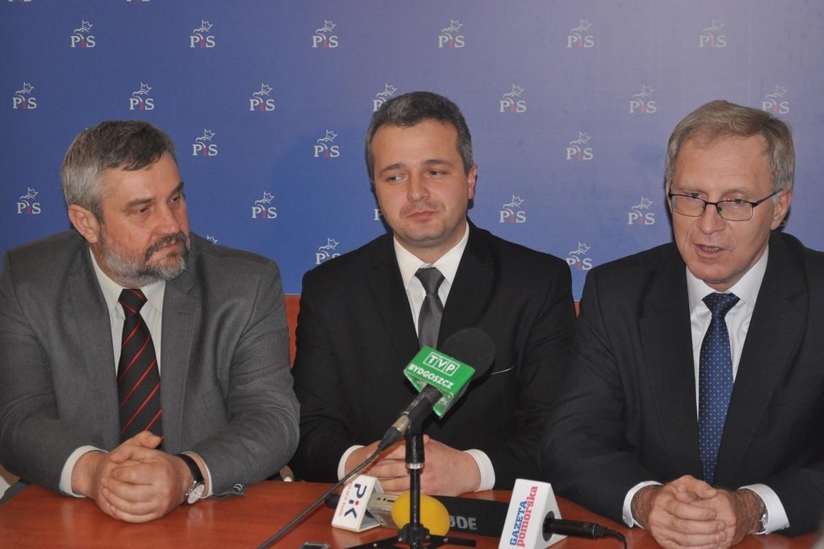 Jan Krzysztof Ardanowski, Mikołaj Bogdanowicz, Tomasz Latos - ED