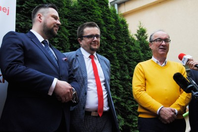 Włodzimierz Czarzasty, Ireneusz Nitkiewicz, Marcin Kulasek - LG (1)