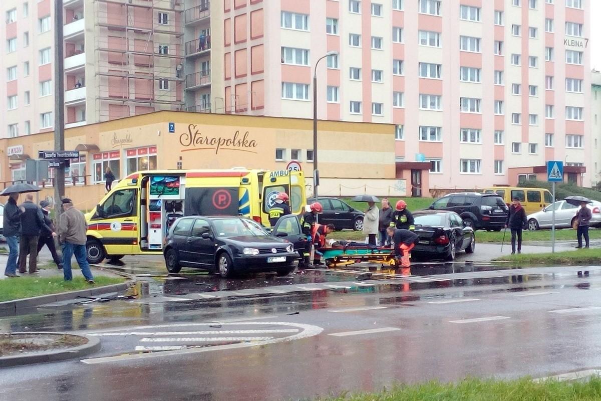 wypadek, fordon - ignacy barczykowski