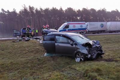 Wypadek_DK10_Białe Błota_Lisi Ogon1