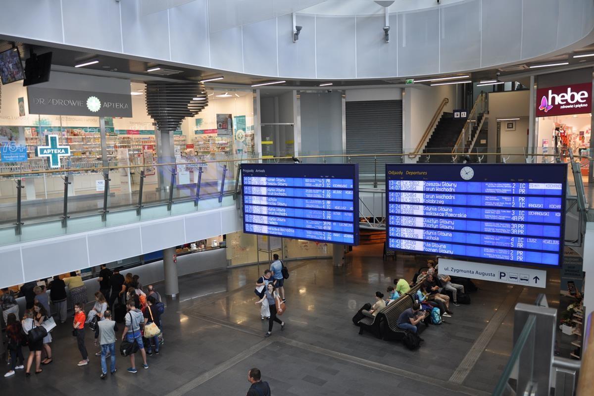 dworzec główny PKP Bydgoszcz