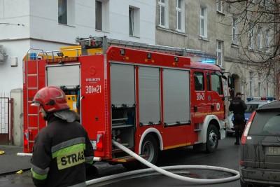 Pożar_straż pożarna_Nowodworska_SG (11)