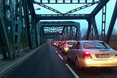 most fordoński, korki - nadesłane