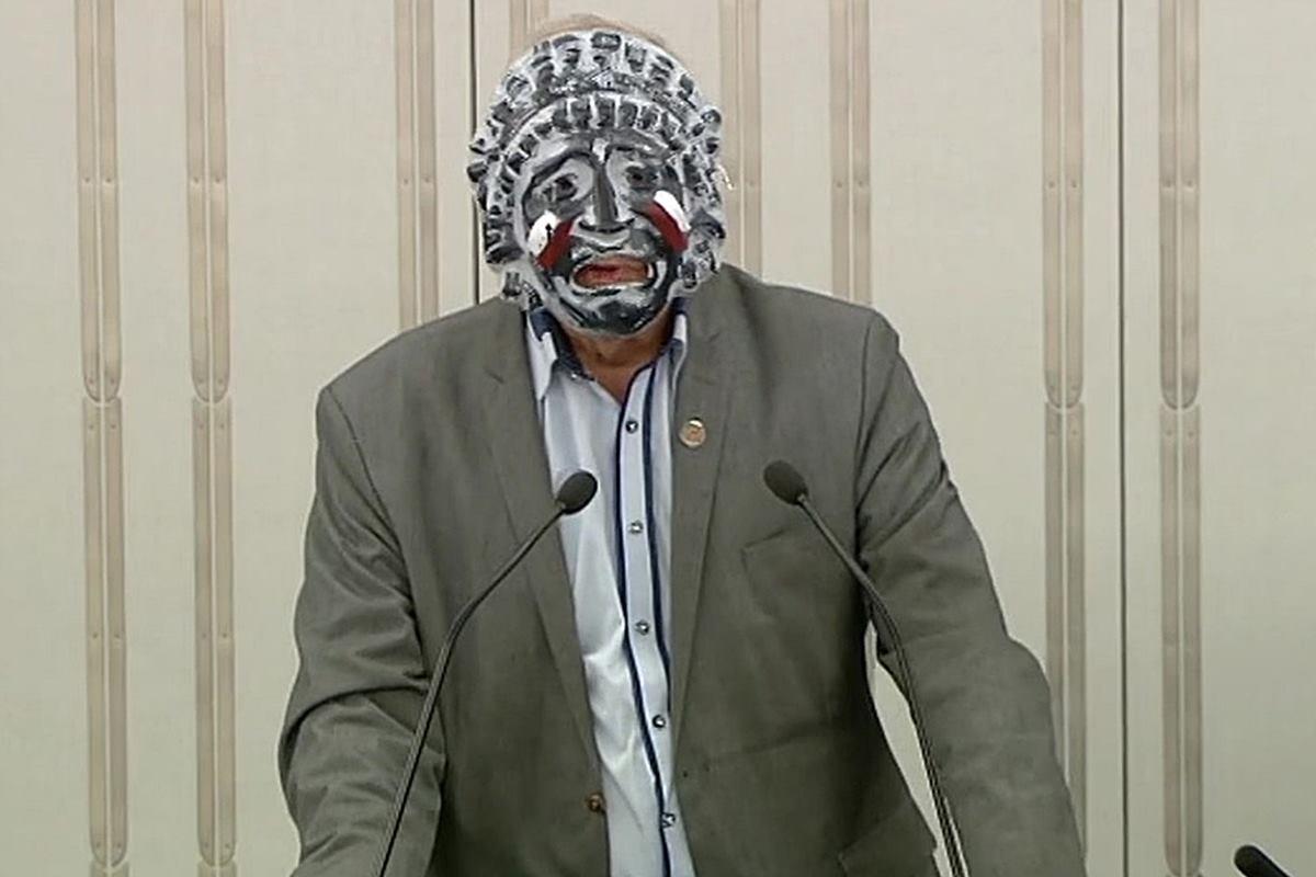 Jan Rulewski, maska - nagranie (2)