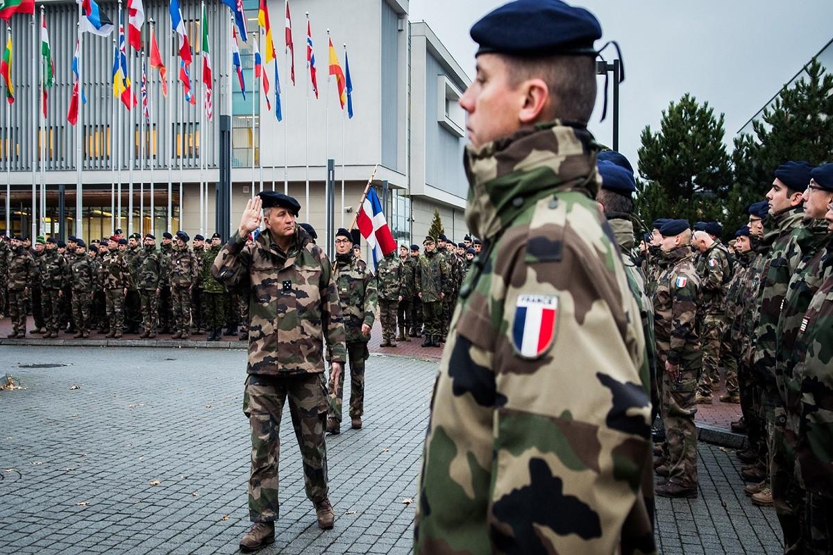 żołnierze francuscy