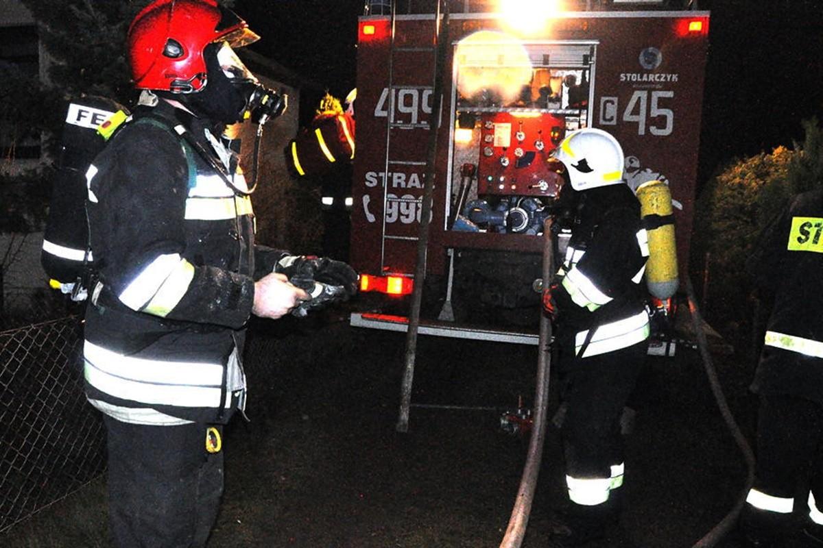 pożar kujawsko-pomorskie