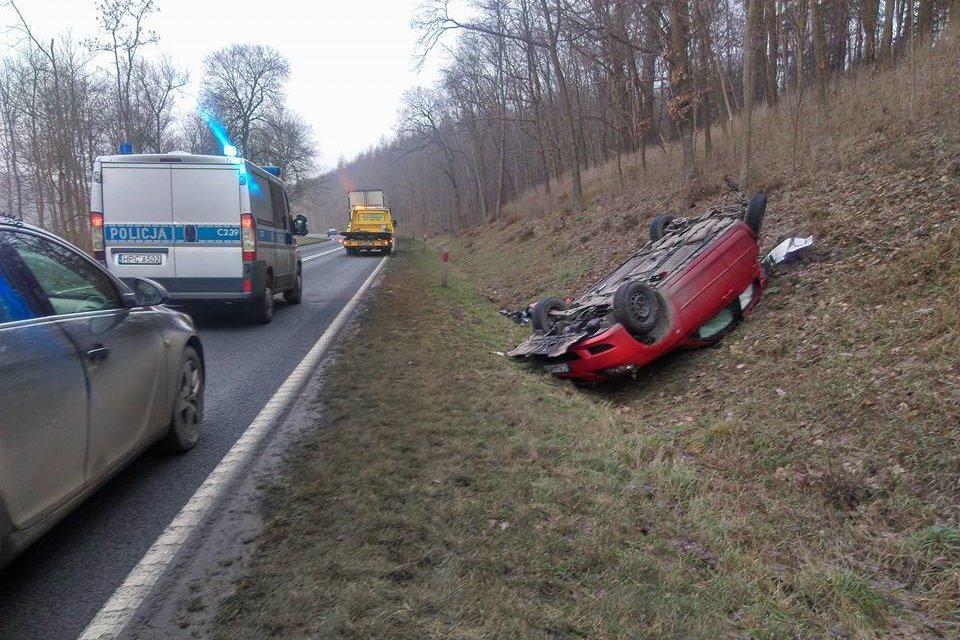 wypadek, dk10 zielonczyn - andruszczenko