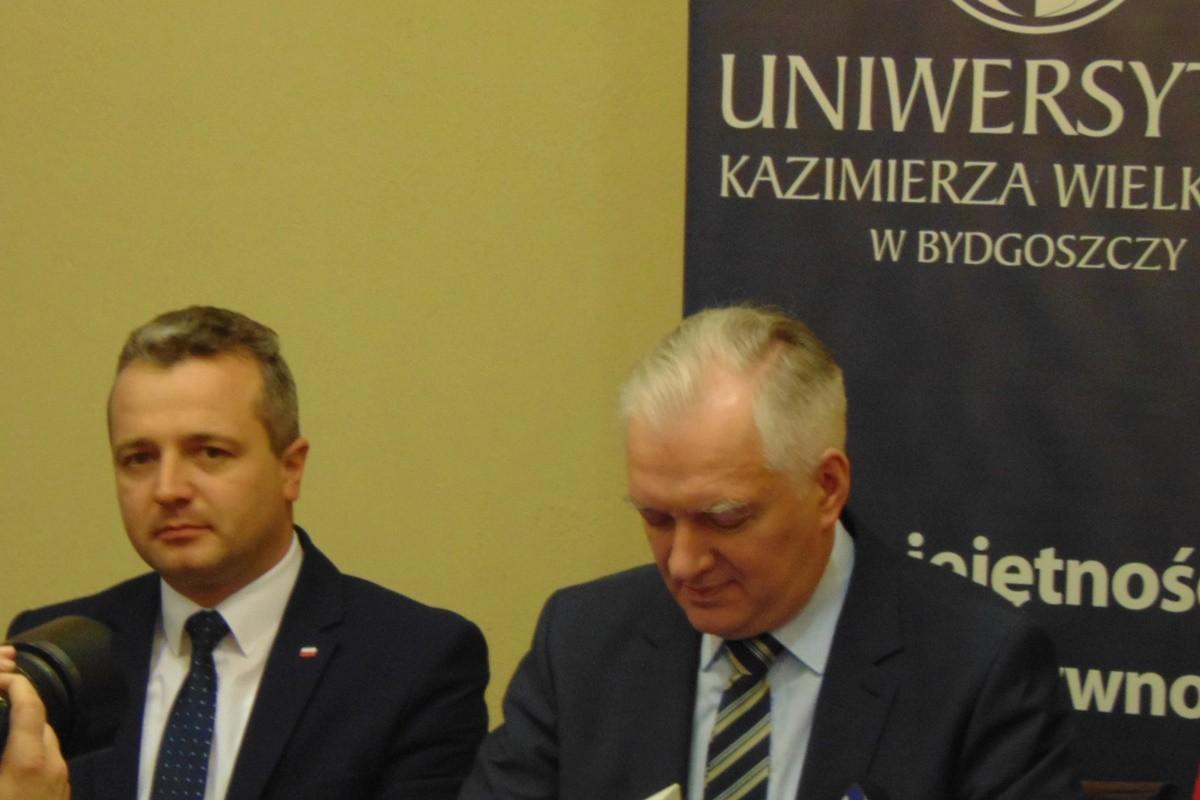 Jarosław Gowin_wizyta na UKW Bydgoszcz_Błażej Bembnista-1