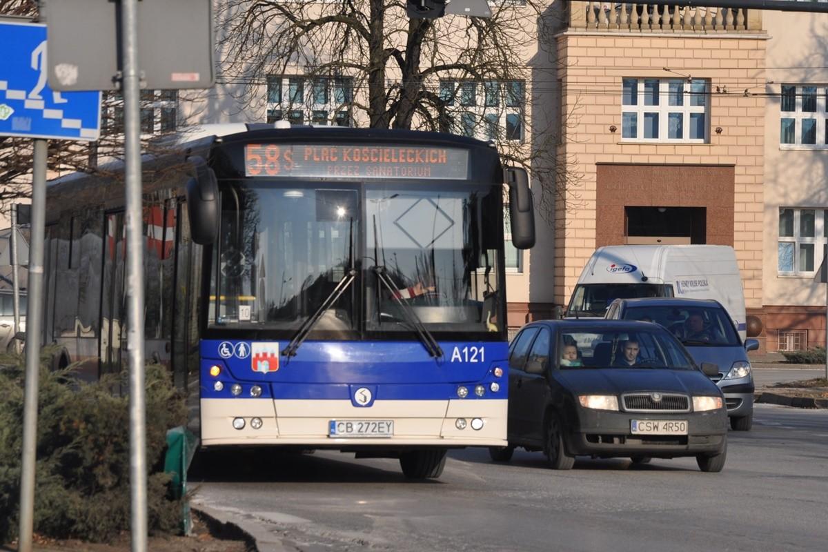 autobus, linia 58, rondo jagiellonów - st