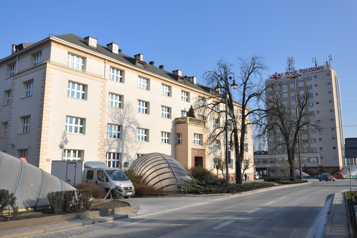 collegium medicum,  jagiellońska, bank pocztowy - st