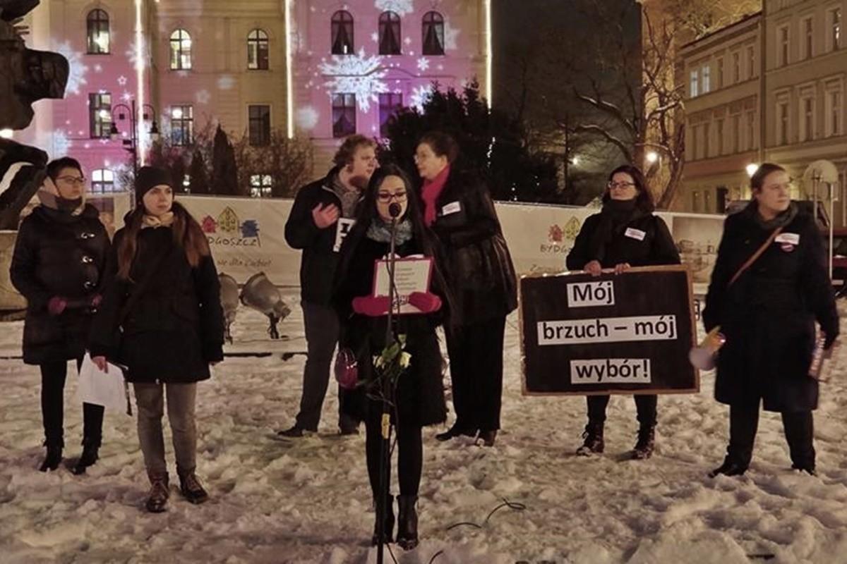 demonstracja kobiet_stary rynek_bogusław białas