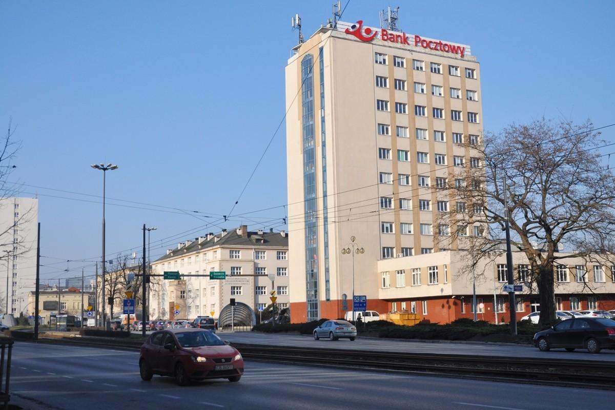 jagiellońska, bank pocztowy - st