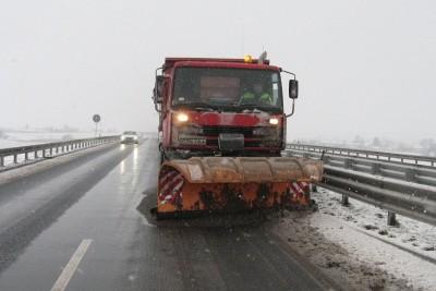 pług, droga, śnieg, zima - gddkia