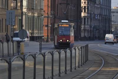 tramwaj, linia 6, łęgnowo, jagiellońska - st