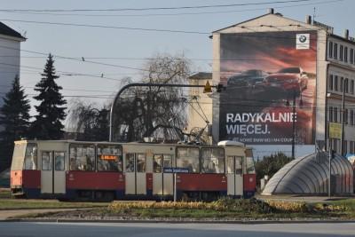 tramwaj rondo Jagiellonów Bydgoszcz