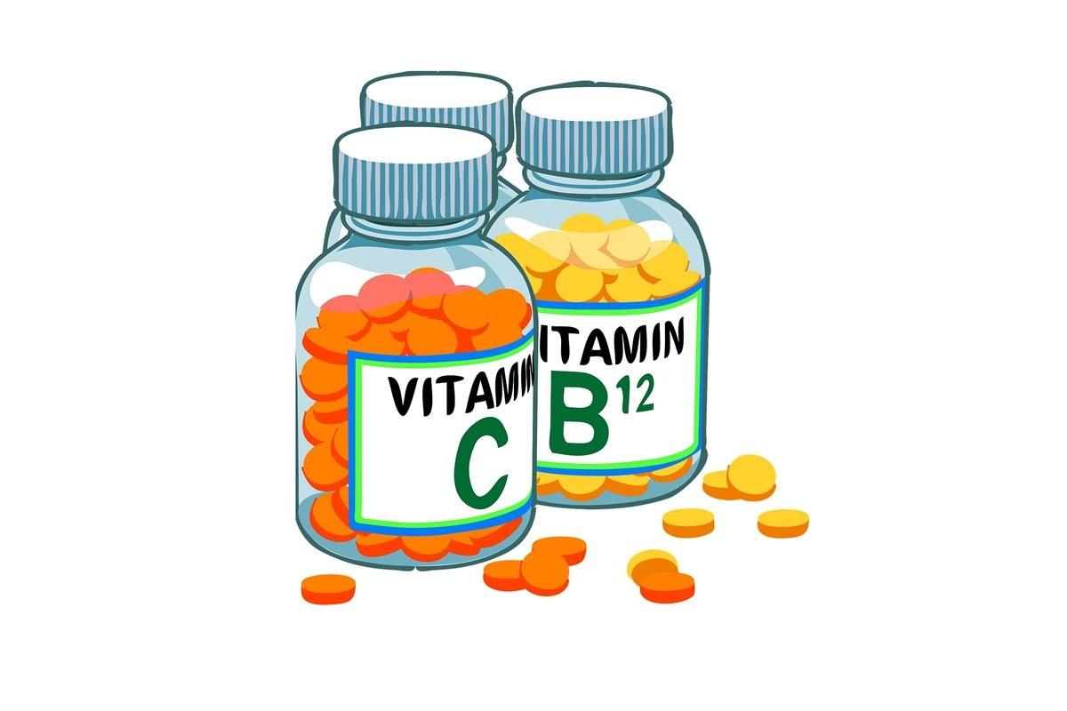 witamina c, witamina b12 - pixabay