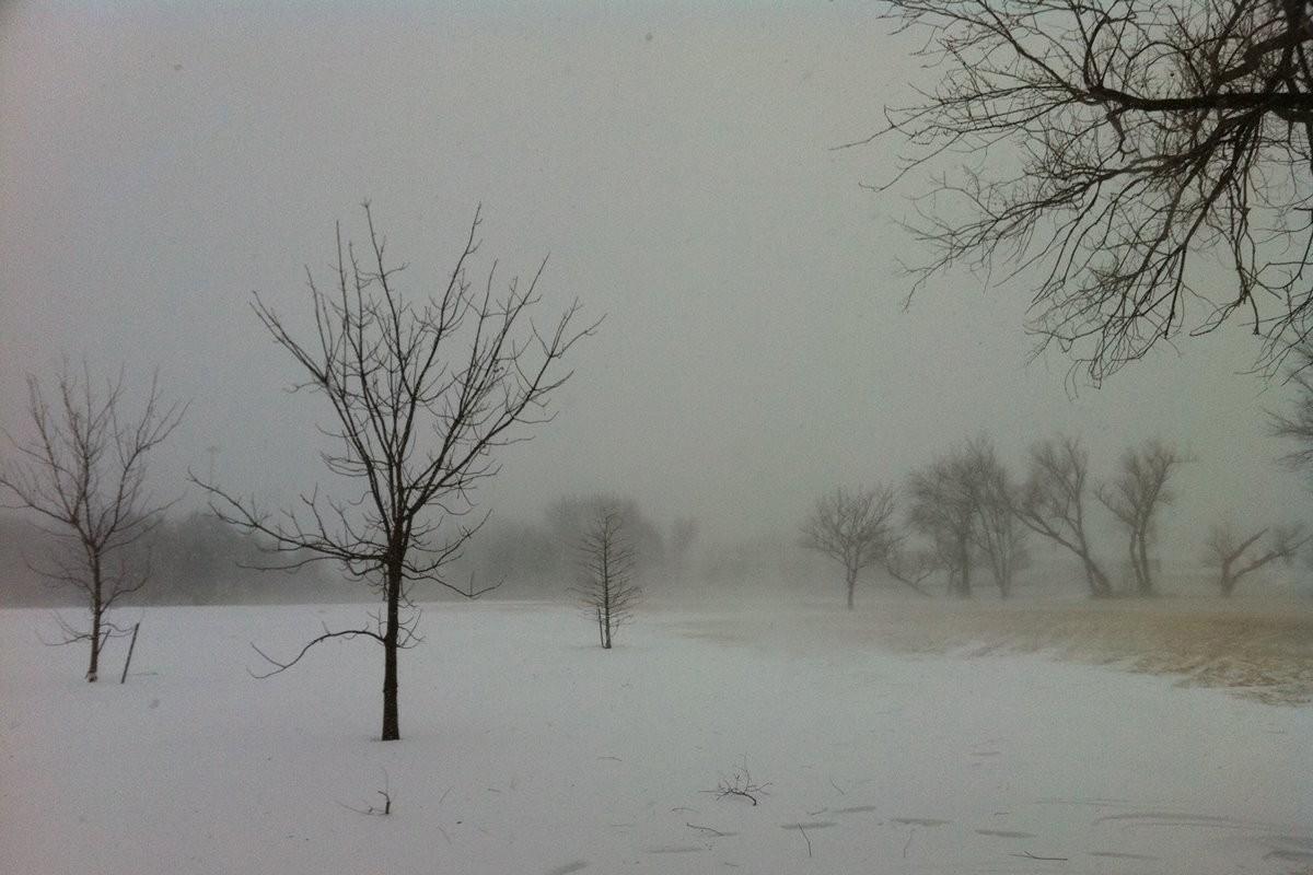 zamieć śnieżna, śnieg, wiatr, zima - mike kachline, wikipedia