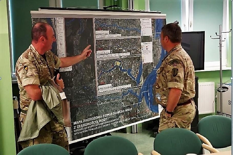 Żołnierze NATO na szkoleniu w Bydgoszczy