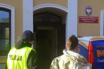 18-latek zatrzymany za rozbój_Bydgoszcz - KWP Bydgoszcz