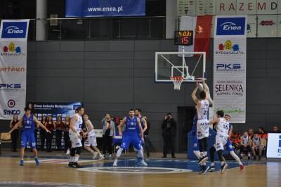 I liga koszykarzy_ Enea Astoria Bydgoszcz - Energa Kotwica Kołobrzeg_ Śpica - SF