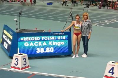 Kinga Gacka_MP juniorów w lekkiej atletyce Toruń 2018_Błażej Baumgart