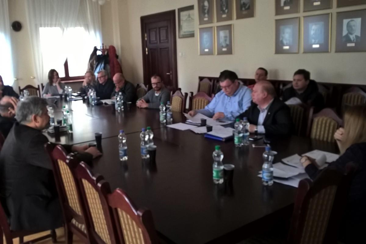 Posiedzenie komisji kultury fizycznej i sportu UM Bydgoszcz_Polonia - Kanclerz, Matkowski - SF