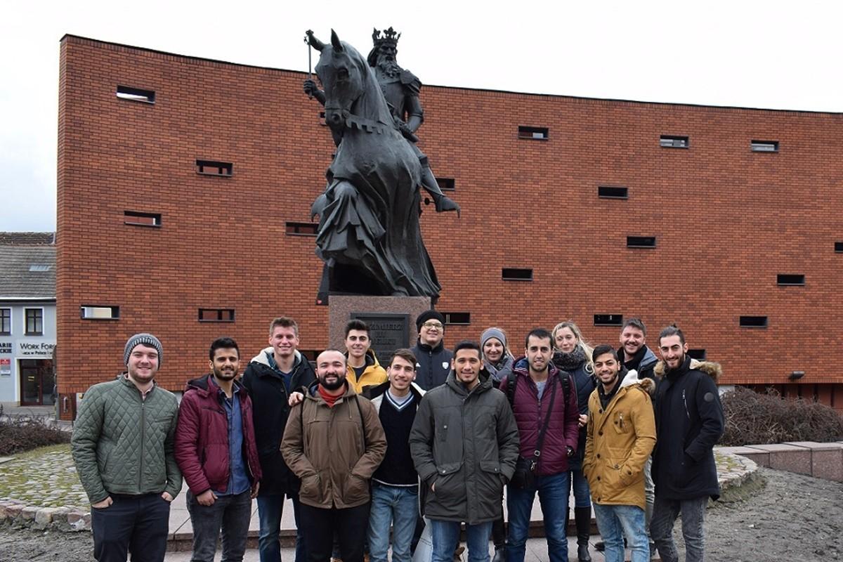 Studenci z zagranicy w Bydgoszczy_Erasmus Plus_Nadesłane