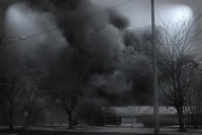 pożar warsztat